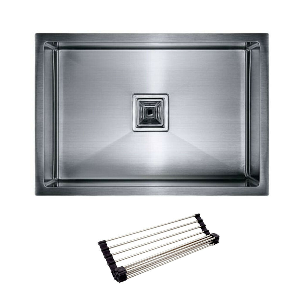 540*440*300mm Stainless Steel 1 Bowl Kitchen Laundry Sink ...