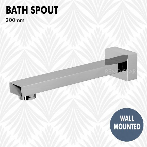 240*40*34mm Wall Spout Swivel Brass Round Outlet for Bath Spa